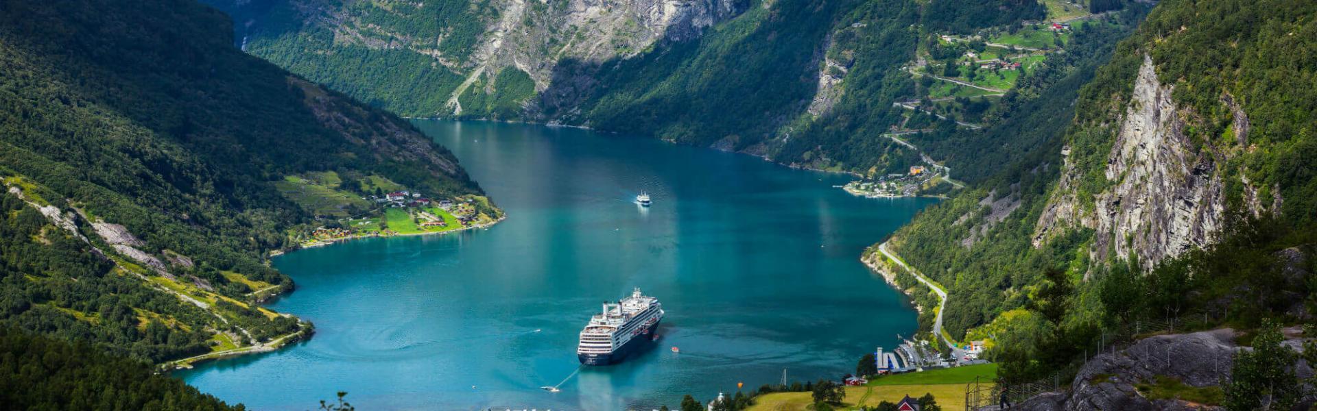 Vestlandet - fjord og fjell i Norge